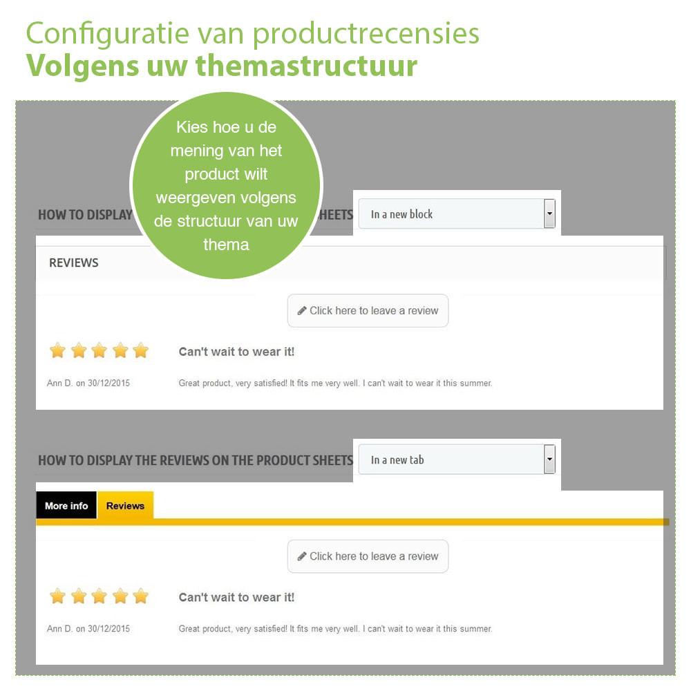 module - Klantbeoordelingen - Shop Recensies + Productbeoordelingen + Rich Snippets - 16