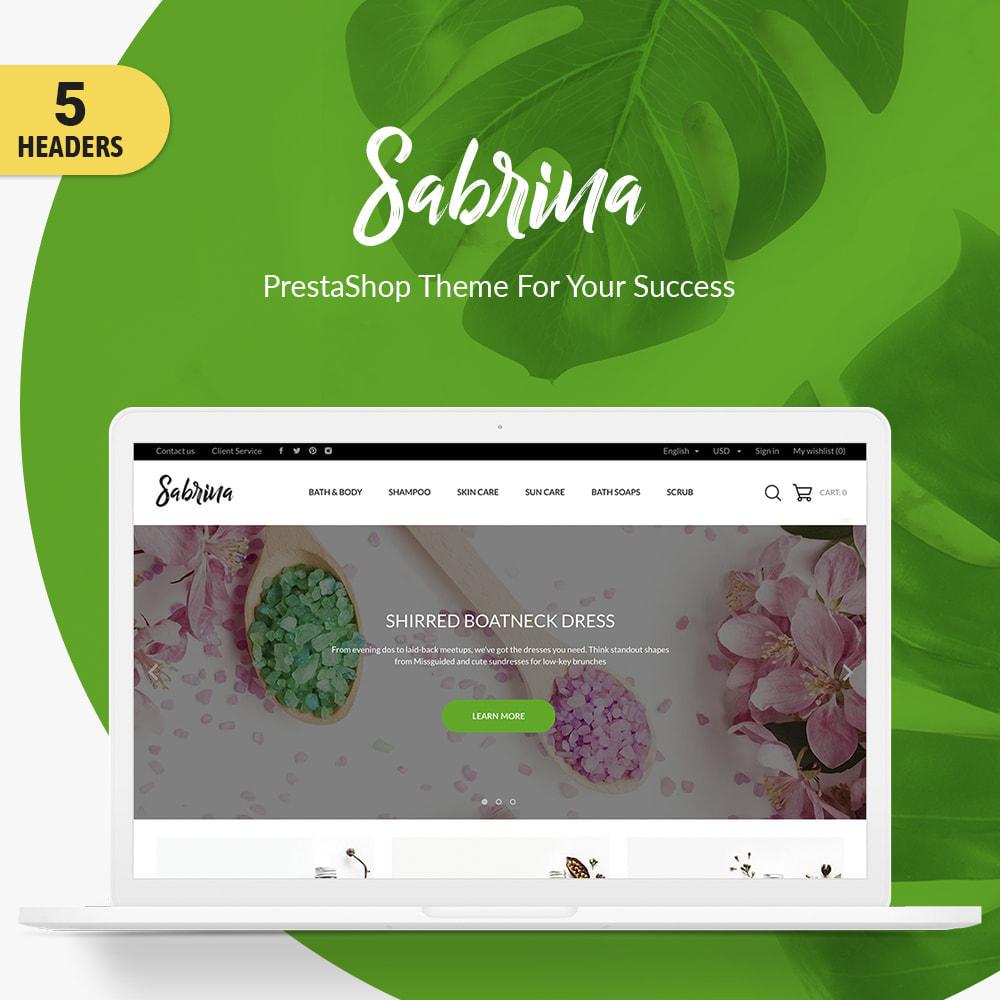 theme - Santé & Beauté - Sabrina Cosmetics - 1