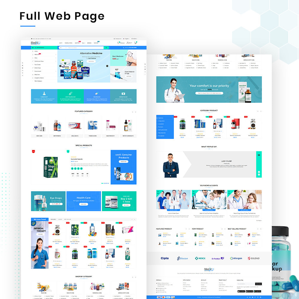 theme - Health & Beauty - Medico Mega Medicine–Drug Pharmacy–Medical Super Store - 2