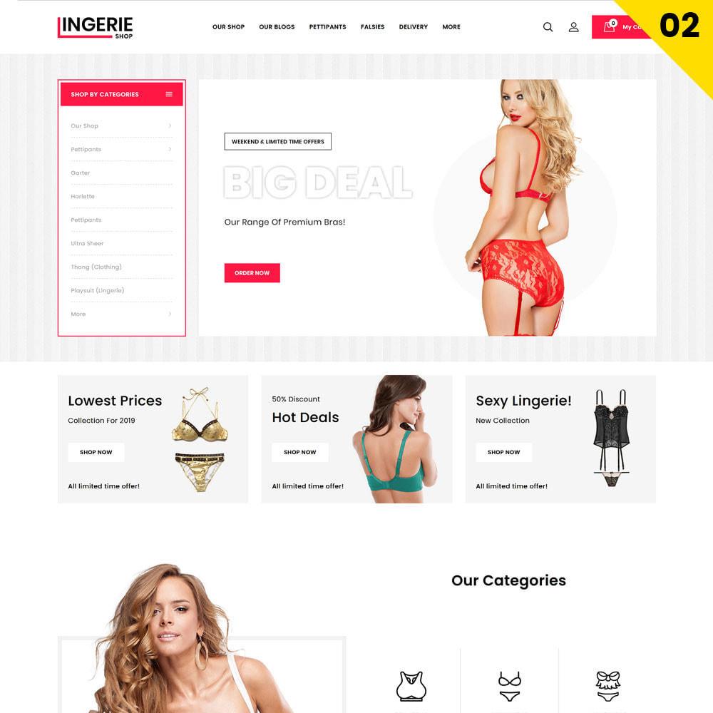 theme - Lingerie & Adulte - Lingerie Shop Le magasin de lingerie - 4