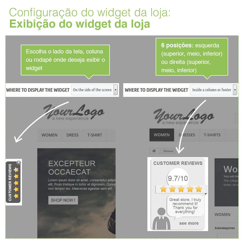 module - Opiniões de clientes - Opiniões de loja + produto  Opiniões + Snippets - 5