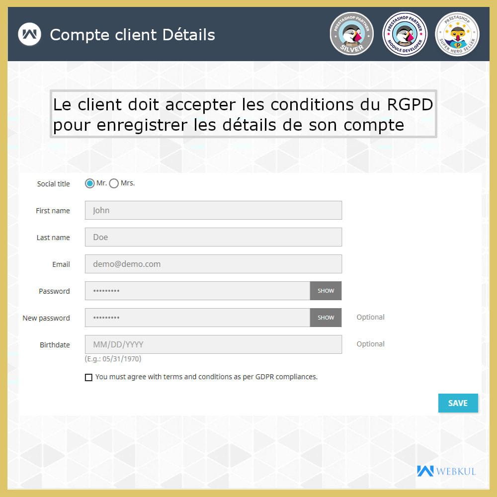 module - Législation - Conformité GDPR - 3