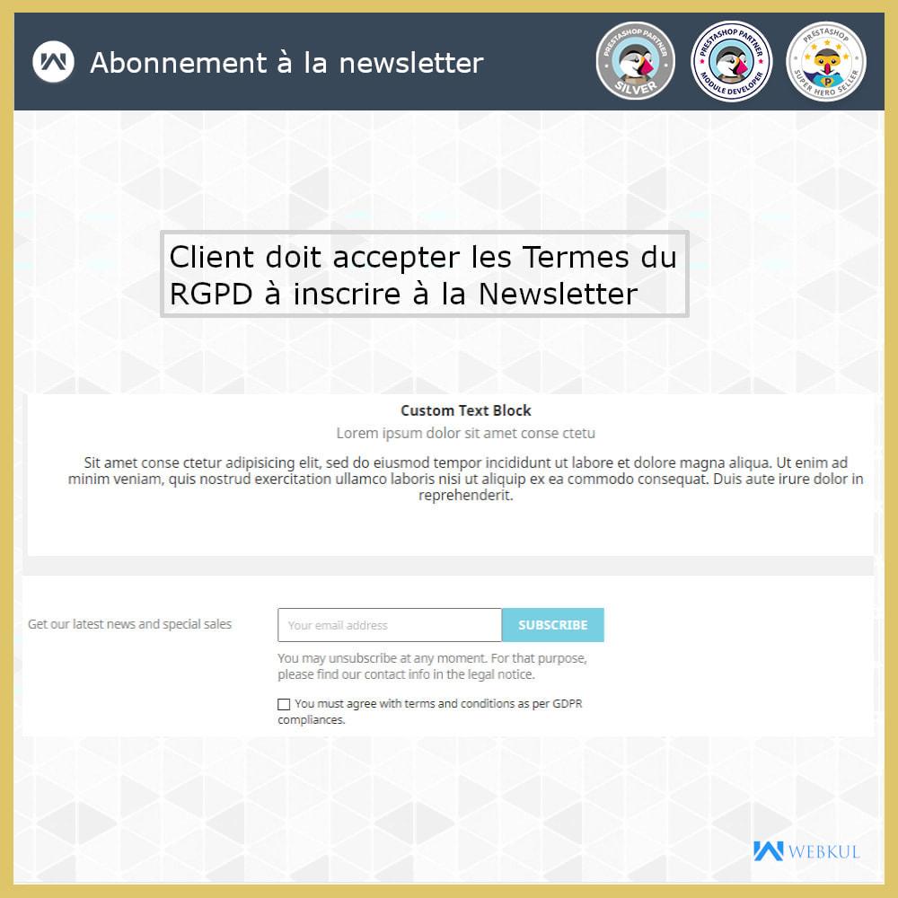 module - Législation - Conformité GDPR - 5