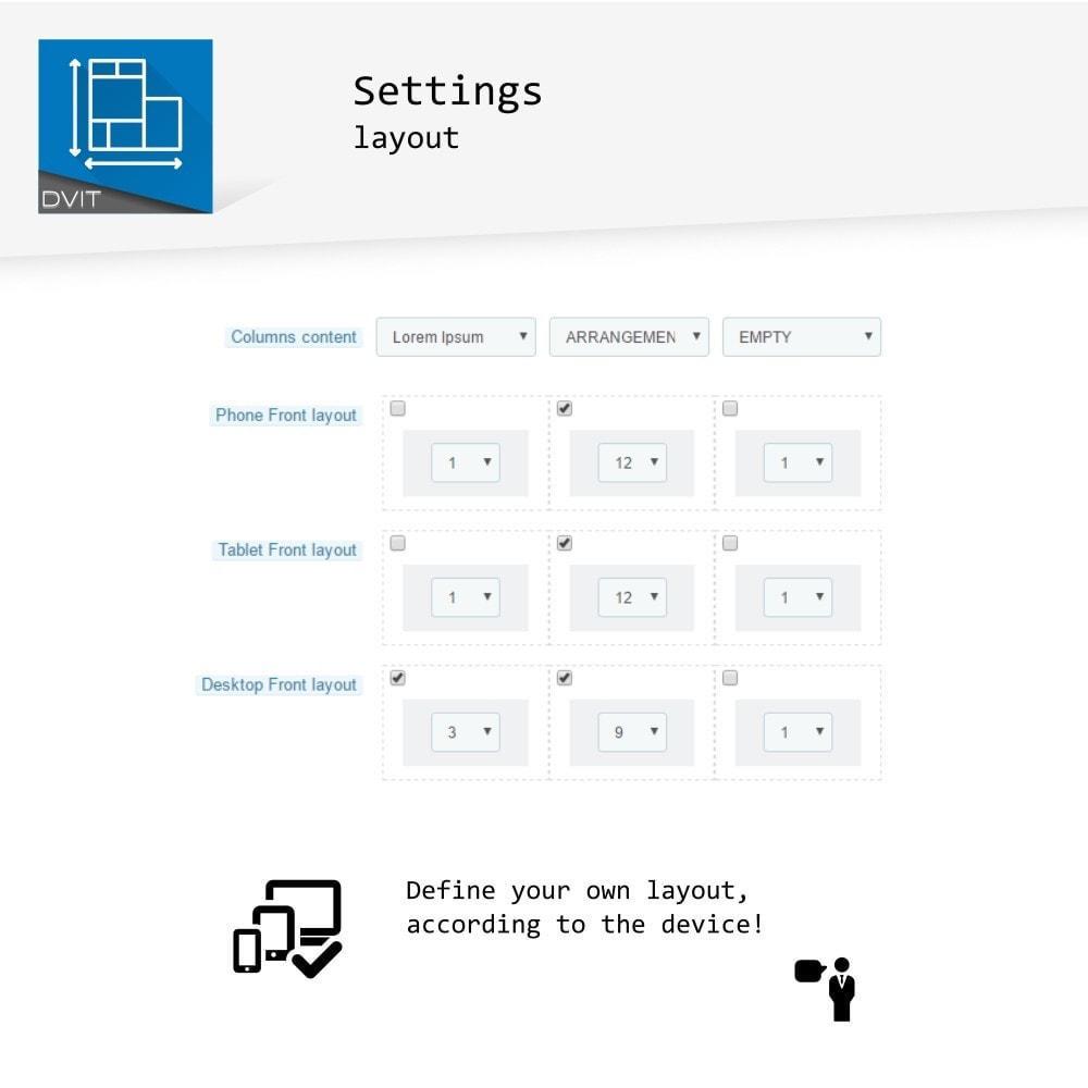 module - Personalización de la página - Puesta en escena de productos - 13