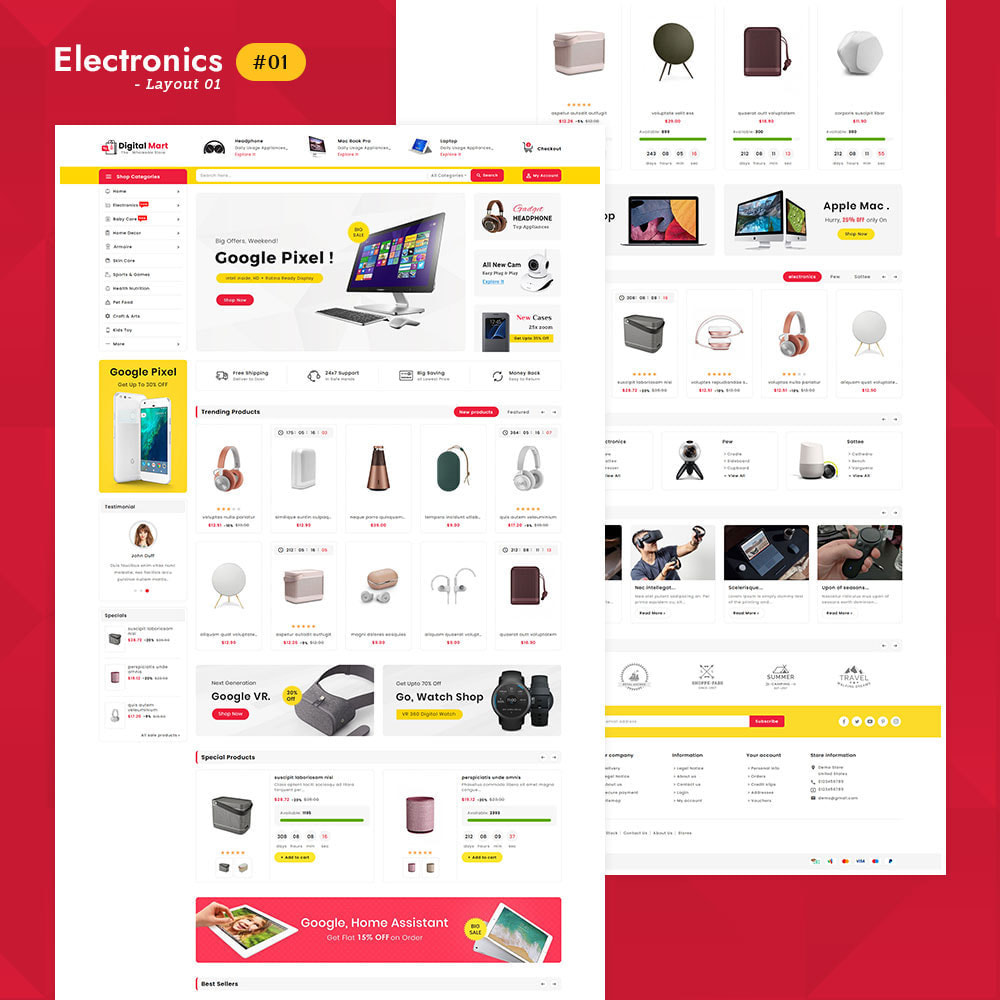 theme - Electronics & Computers - Digital Mart - Multi-purpose Mega Store - 2