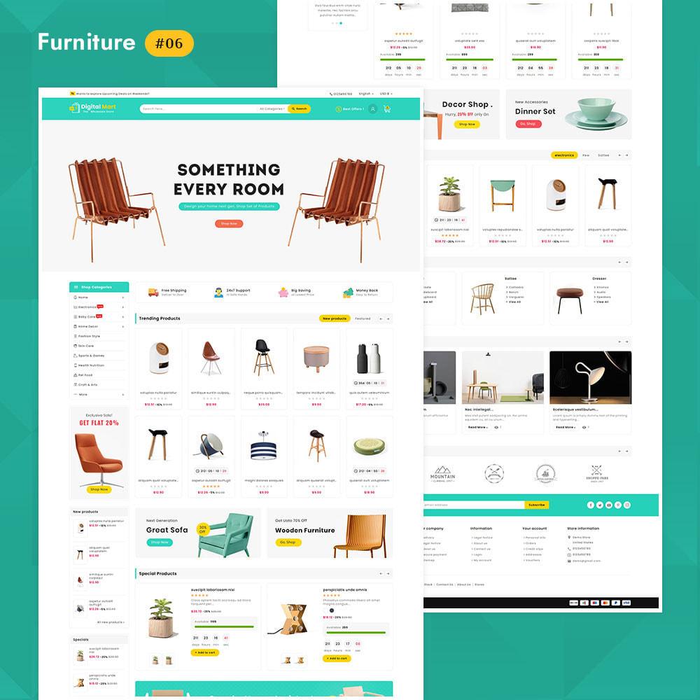 theme - Elektronika & High Tech - Digital Mart - Multi-purpose Mega Store - 7