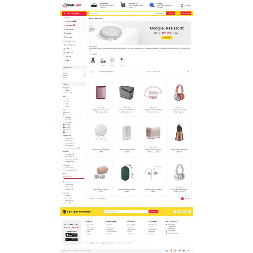 theme - Elektronika & High Tech - Digital Mart - Multi-purpose Mega Store - 13