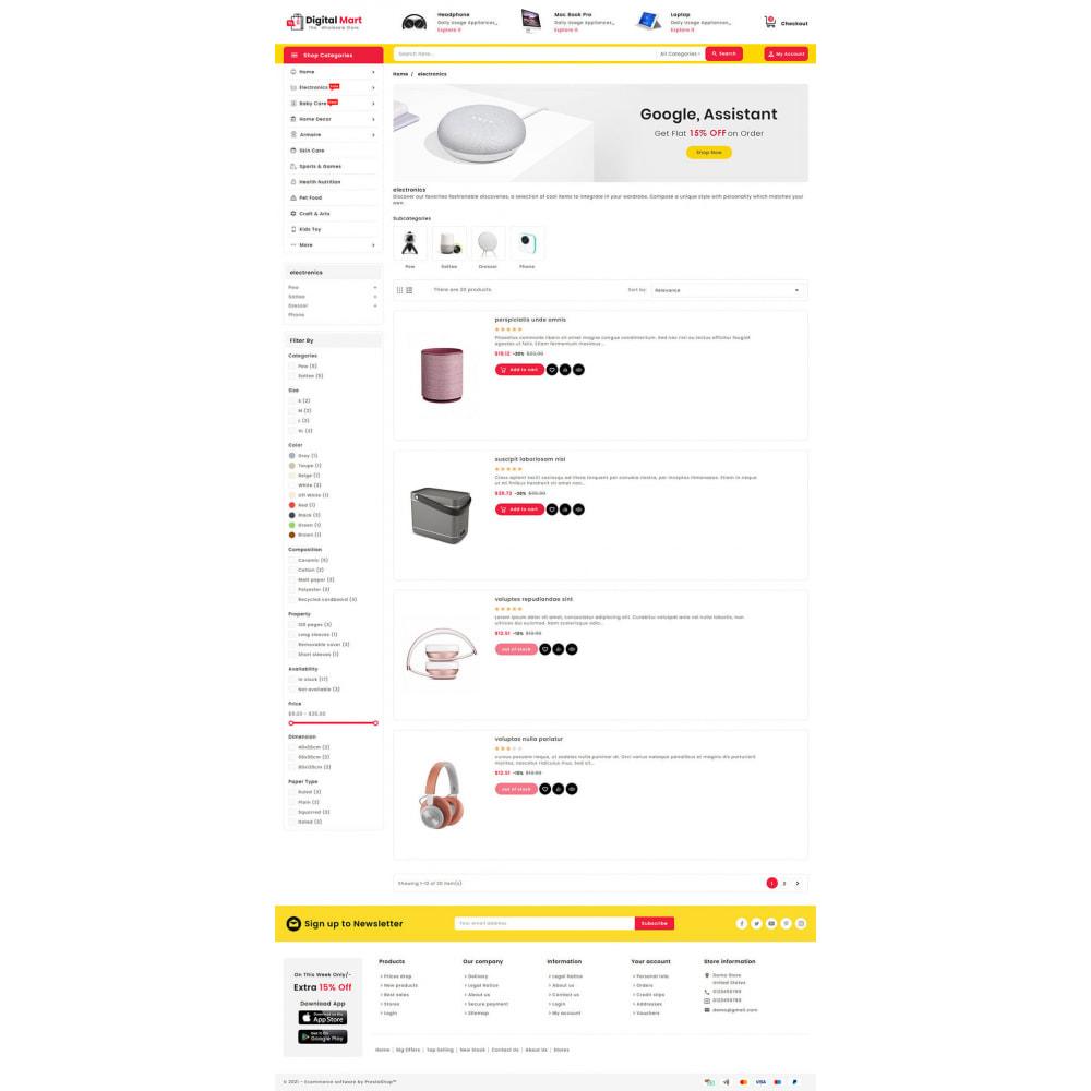 theme - Elektronika & High Tech - Digital Mart - Multi-purpose Mega Store - 14
