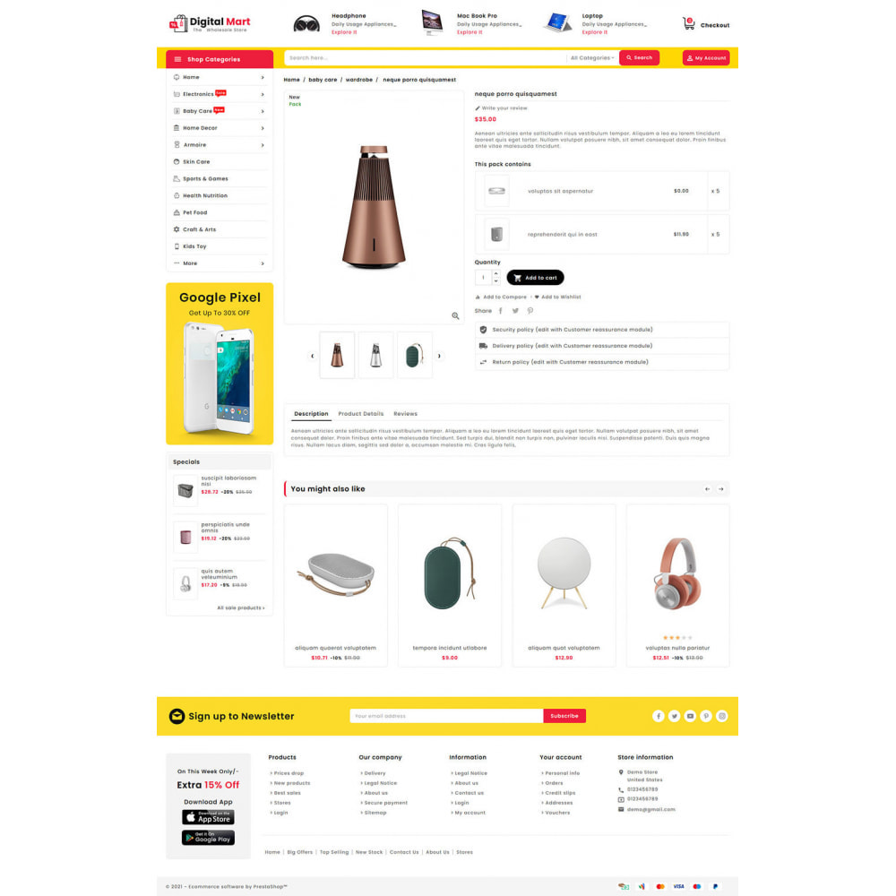 theme - Eletrônicos & High Tech - Digital Mart - Multi-purpose Mega Store - 15