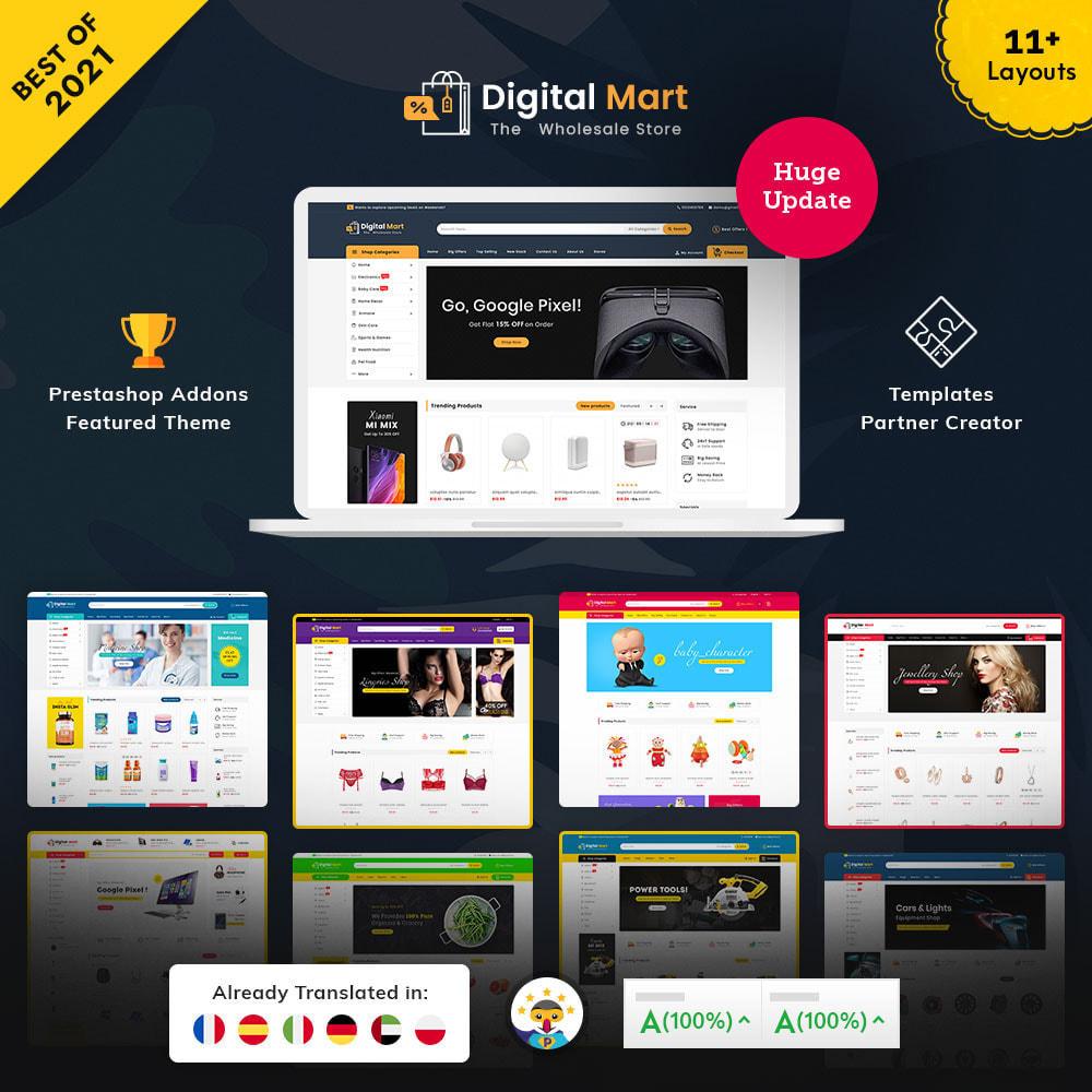 theme - Электроника и компьютеры - Digital Mart - Multi-purpose Mega Store - 1