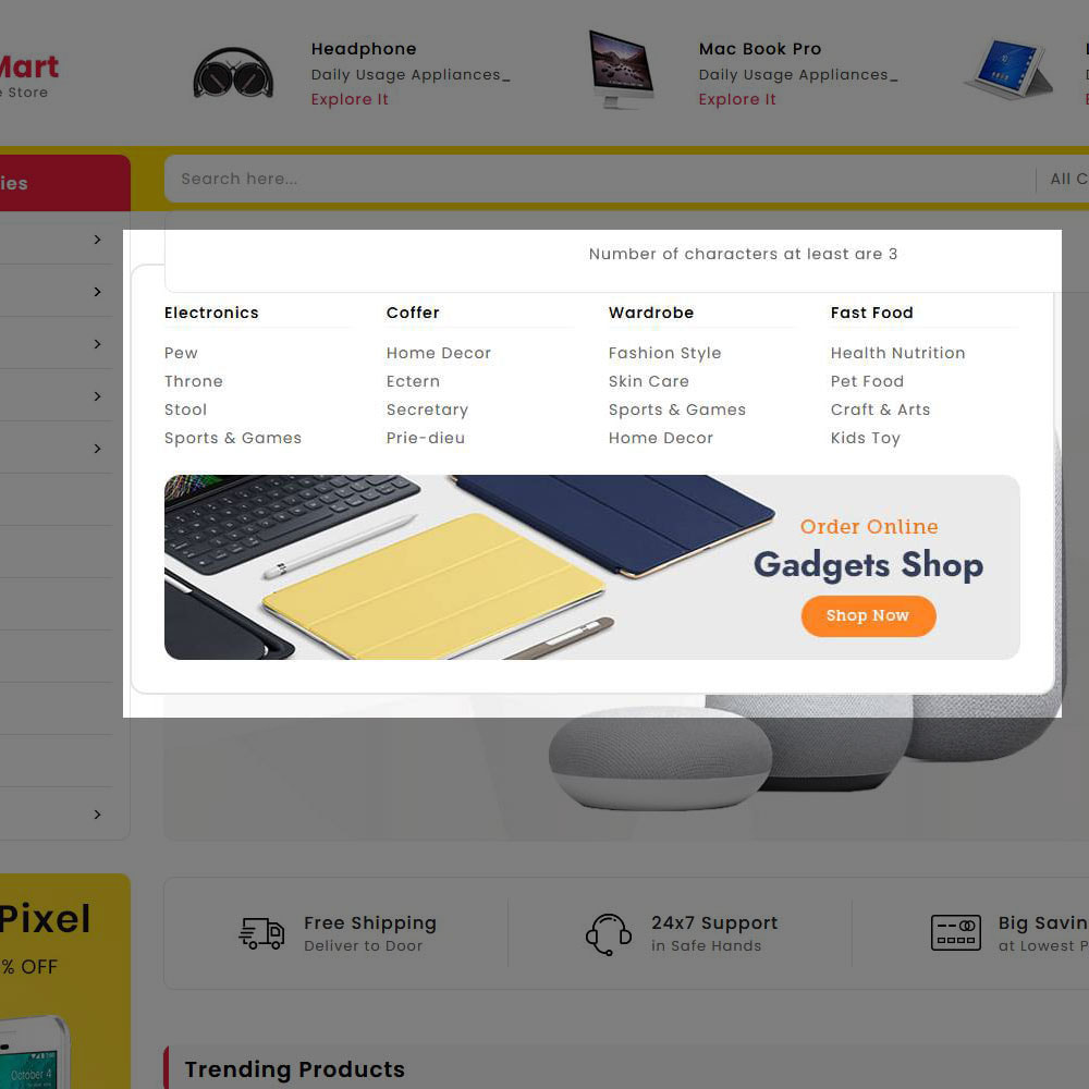 theme - Электроника и компьютеры - Digital Mart - Multi-purpose Mega Store - 19