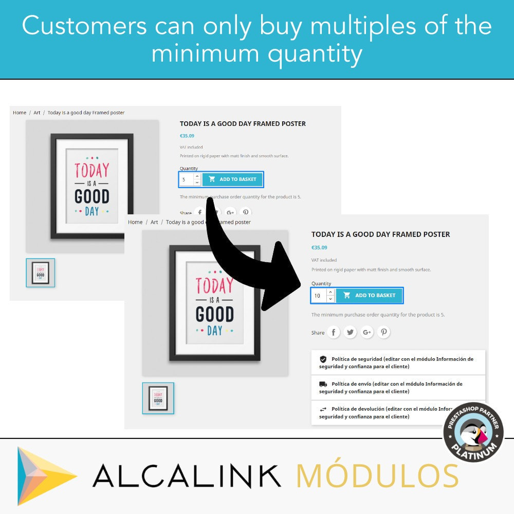 module - Cross-Selling & Produktbundles - Sell products or combinations in multiples packs - 3