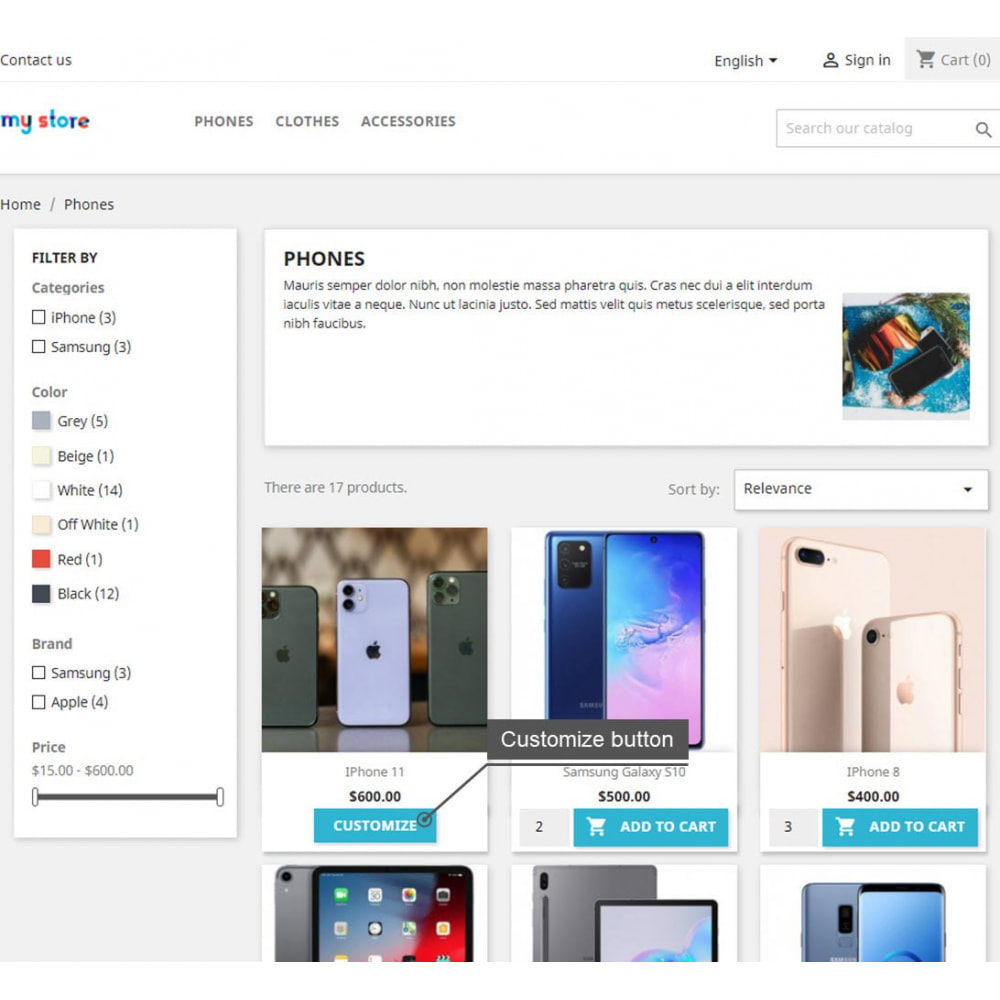 module - Registration & Ordering Process - Display Add To Cart Button In Product List Pages - 5
