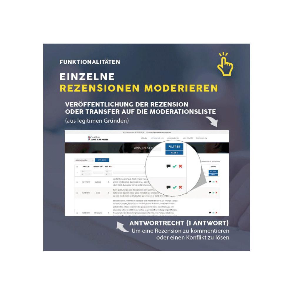 module - Kundenbewertungen - Gesellschaft für Garantierte Bewertungen - Meinung - 10