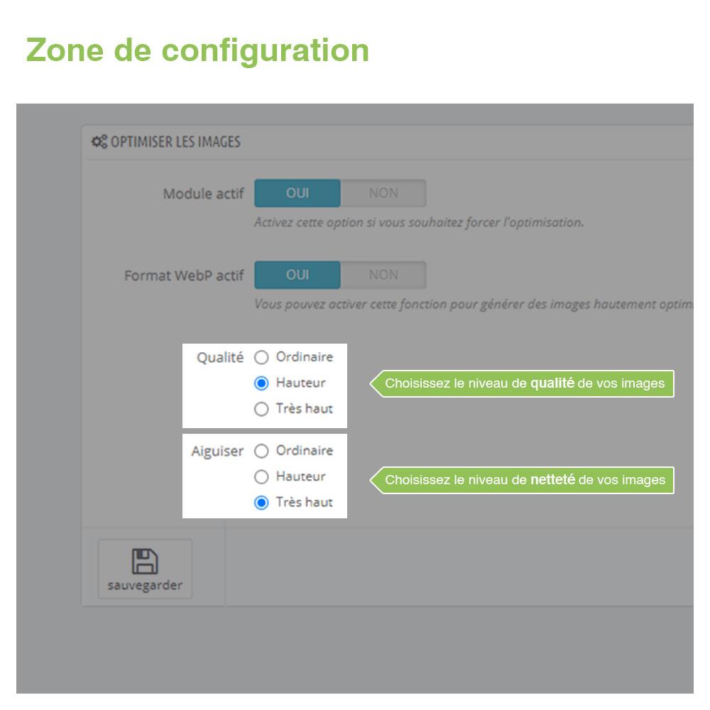 module - Visuels des produits - Image Optimizer et Webp Converter – PrestaShop Module - 3