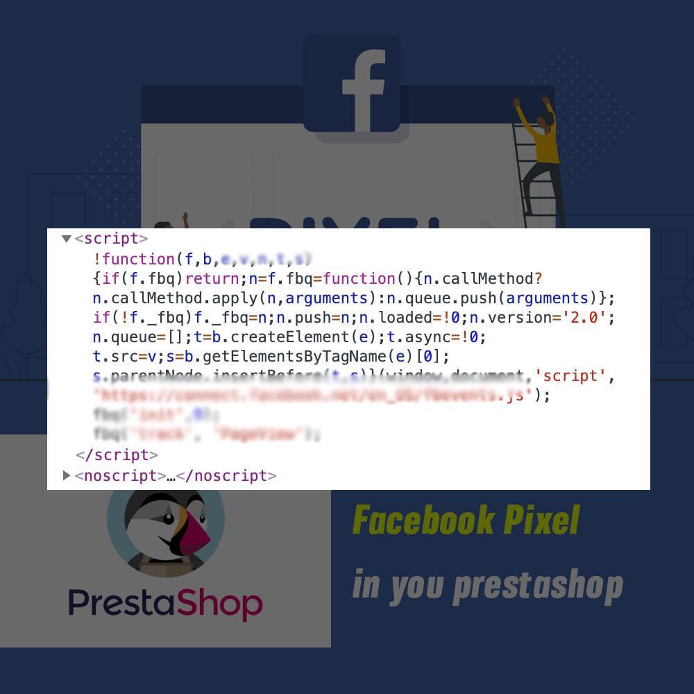 module - Produits sur Facebook & réseaux sociaux - Pixel events - 3