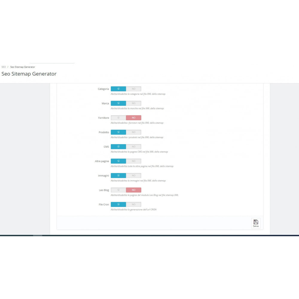 module - SEO (référencement naturel) - Automatic SEO sitemap - 3