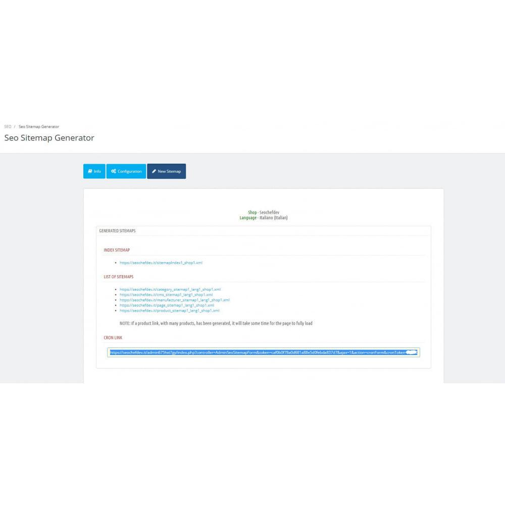 module - SEO (référencement naturel) - Automatic SEO sitemap - 5