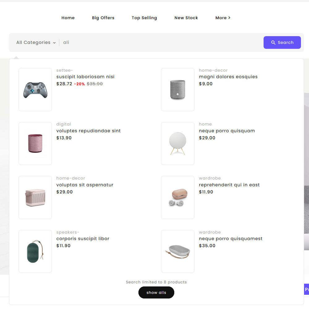 theme - Electrónica e High Tech - Big Market - Multi-purpose Mega Store - 21