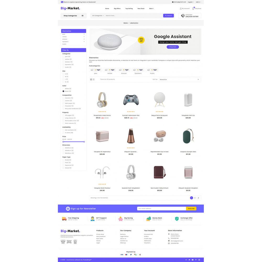 theme - Eletrônicos & High Tech - Big Market - Multi-purpose Mega Store - 14