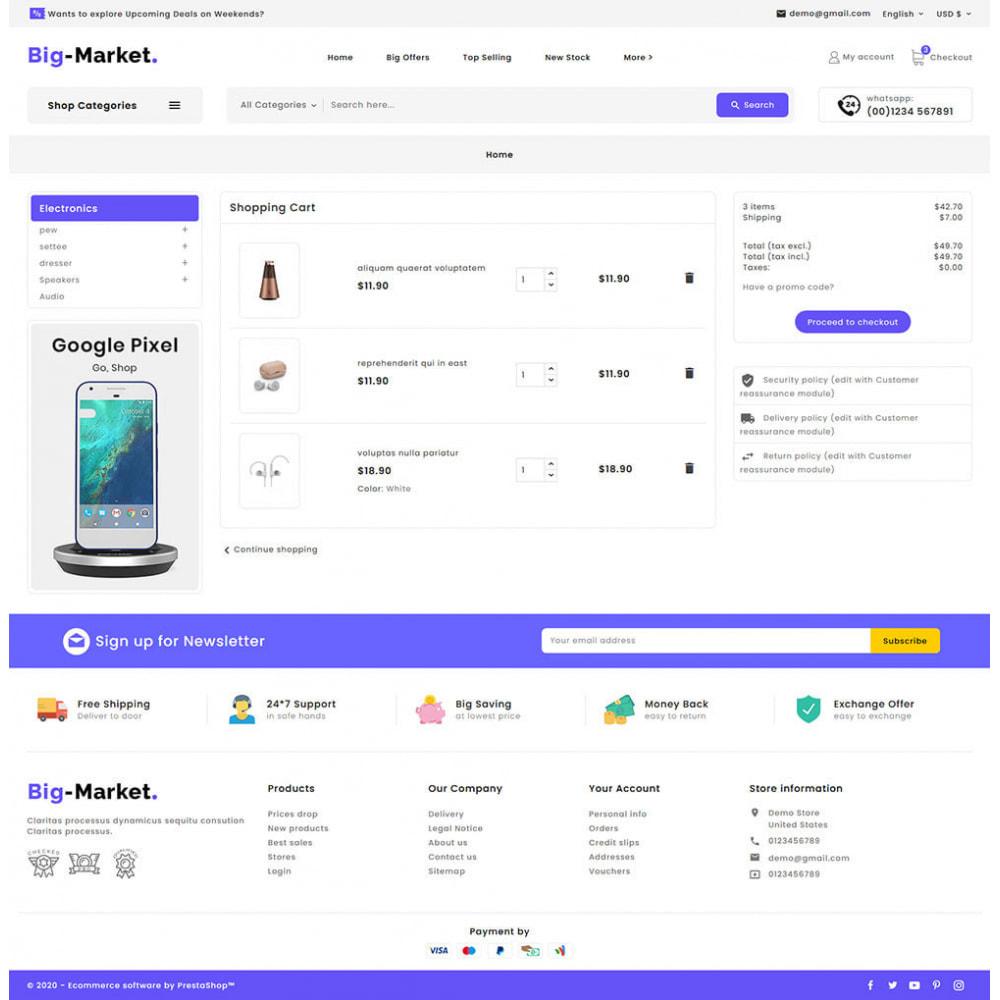 theme - Eletrônicos & High Tech - Big Market - Multi-purpose Mega Store - 17