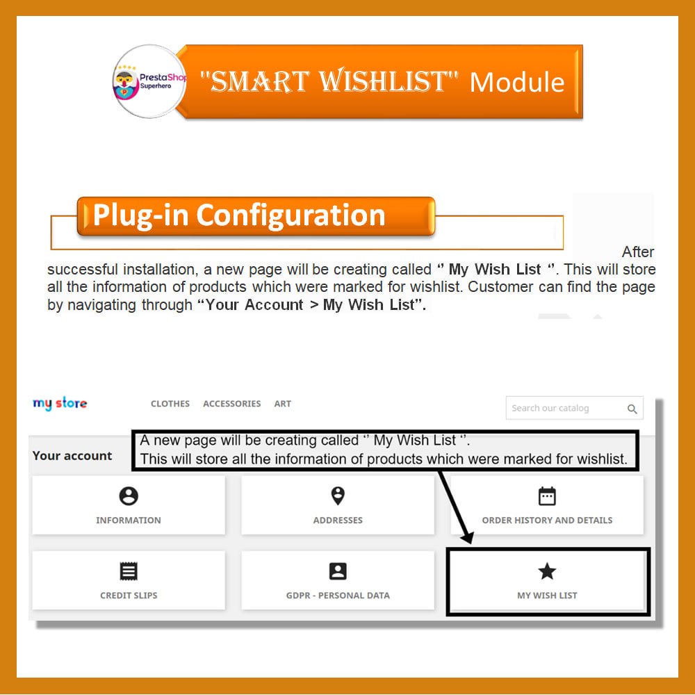 module - Wishlist & Gift Card - Smart Wishlist - 4