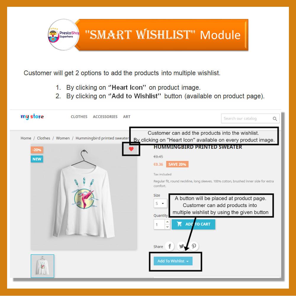 module - Wishlist & Gift Card - Smart Wishlist - 6