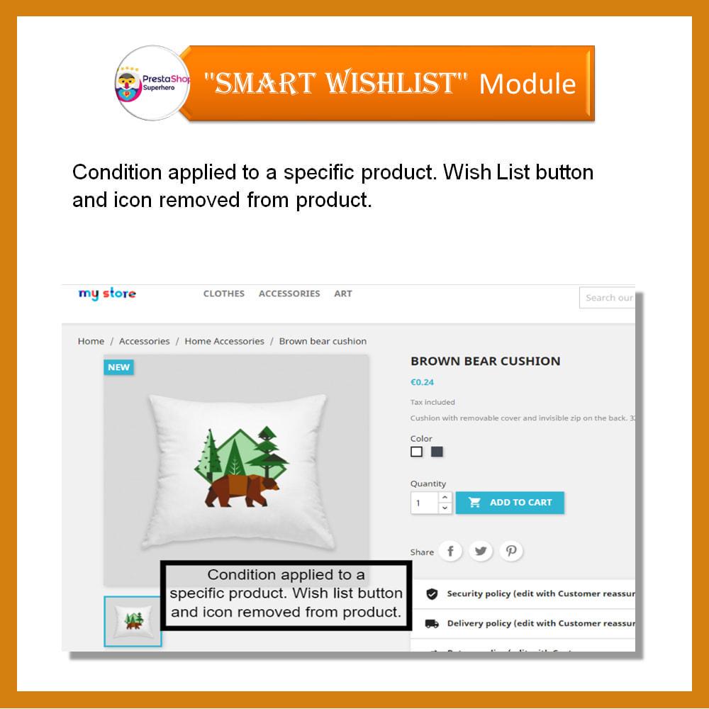 module - Wishlist & Gift Card - Smart Wishlist - 9