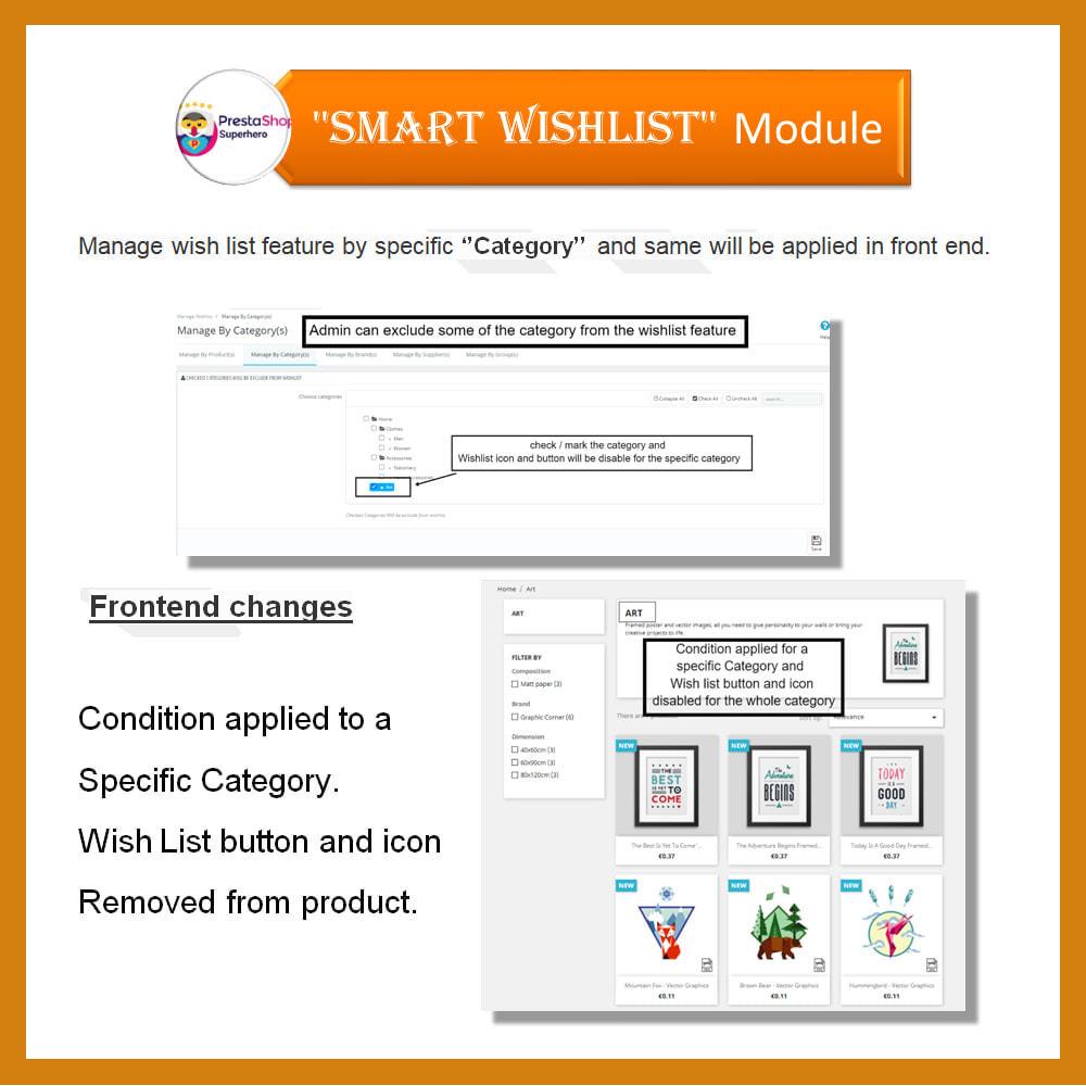 module - Wishlist & Gift Card - Smart Wishlist - 10