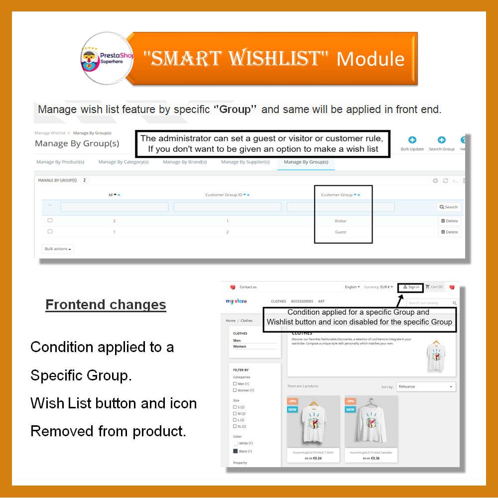 module - Wishlist & Gift Card - Smart Wishlist - 12