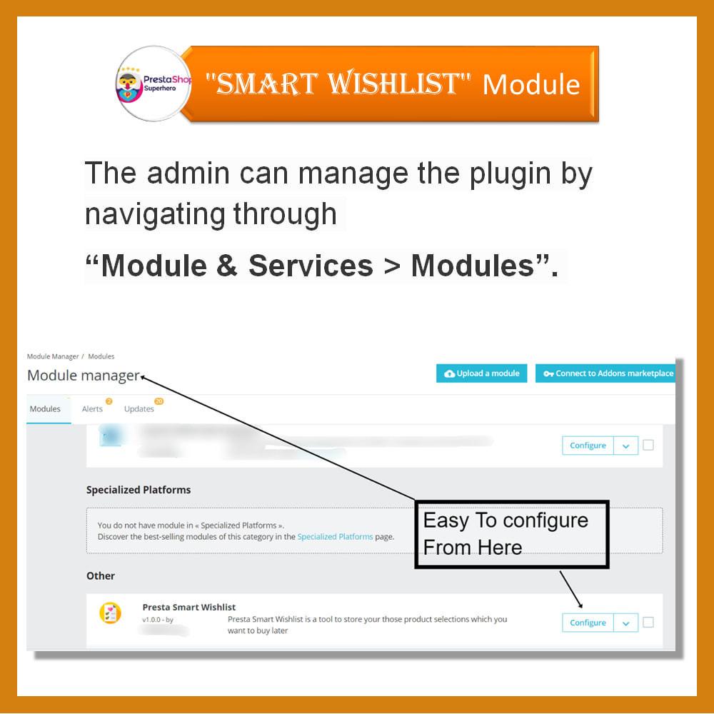 module - Wishlist & Gift Card - Smart Wishlist - 13