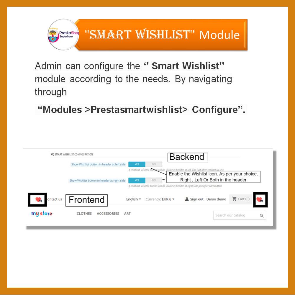 module - Wishlist & Gift Card - Smart Wishlist - 14
