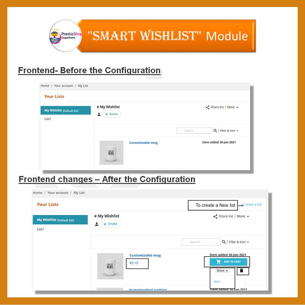 module - Wishlist & Gift Card - Smart Wishlist - 16