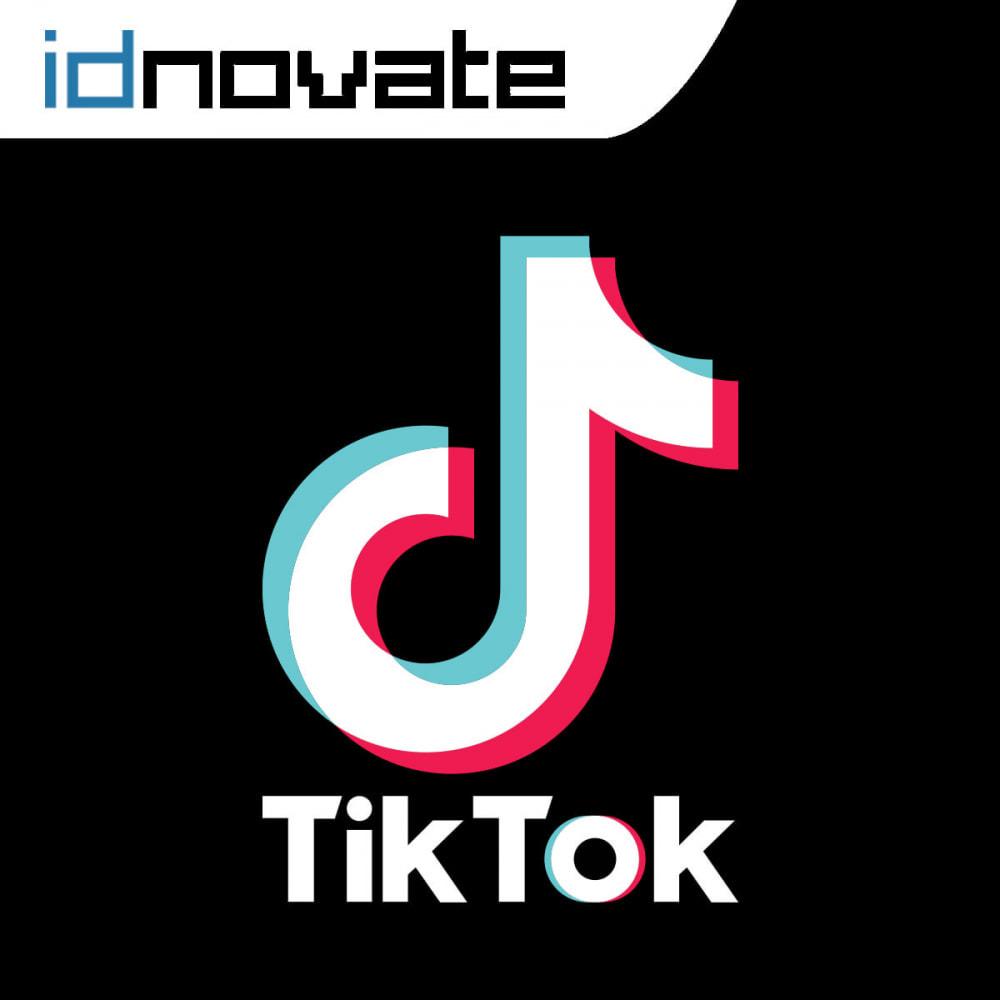 module - Widgets sozialer Netzwerke - TikTok Ads Pixel - 1