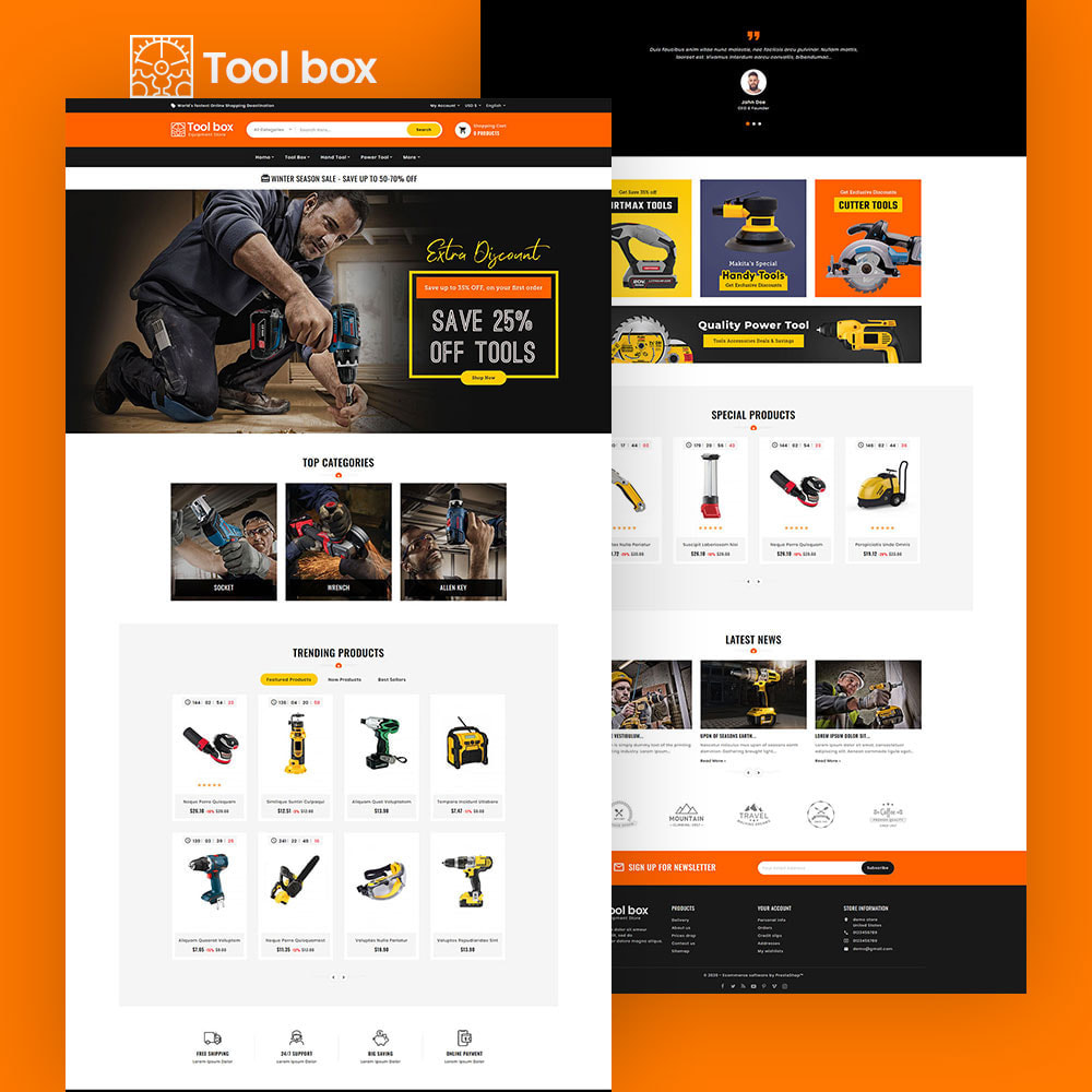theme - Electrónica e High Tech - ToolBox - Drill Tools & Equipment - 3