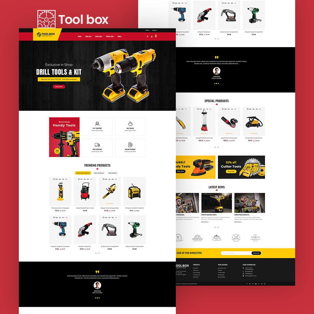 theme - Electrónica e High Tech - ToolBox - Drill Tools & Equipment - 6