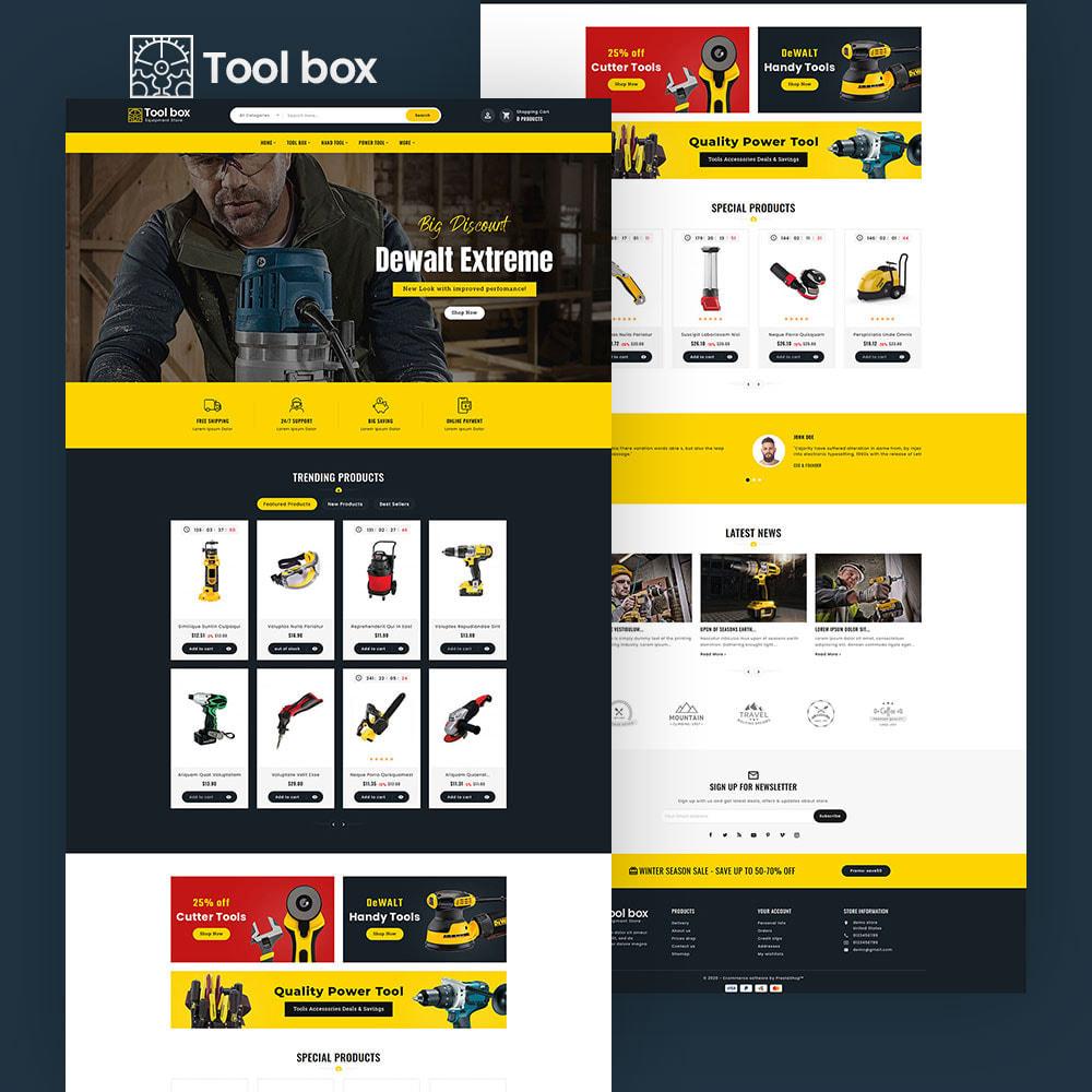 theme - Electrónica e High Tech - ToolBox - Drill Tools & Equipment - 7