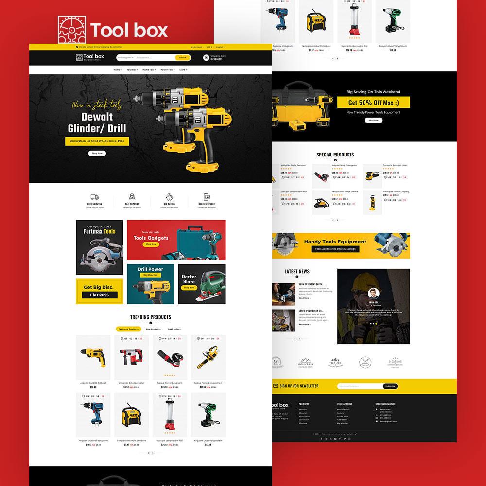theme - Elettronica & High Tech - ToolBox - Drill Tools & Equipment - 4