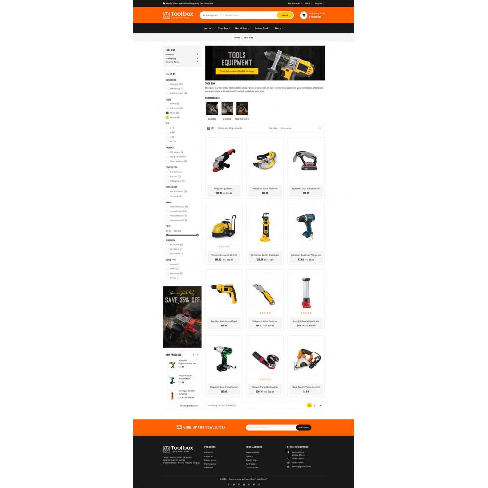 theme - Elettronica & High Tech - ToolBox - Drill Tools & Equipment - 8