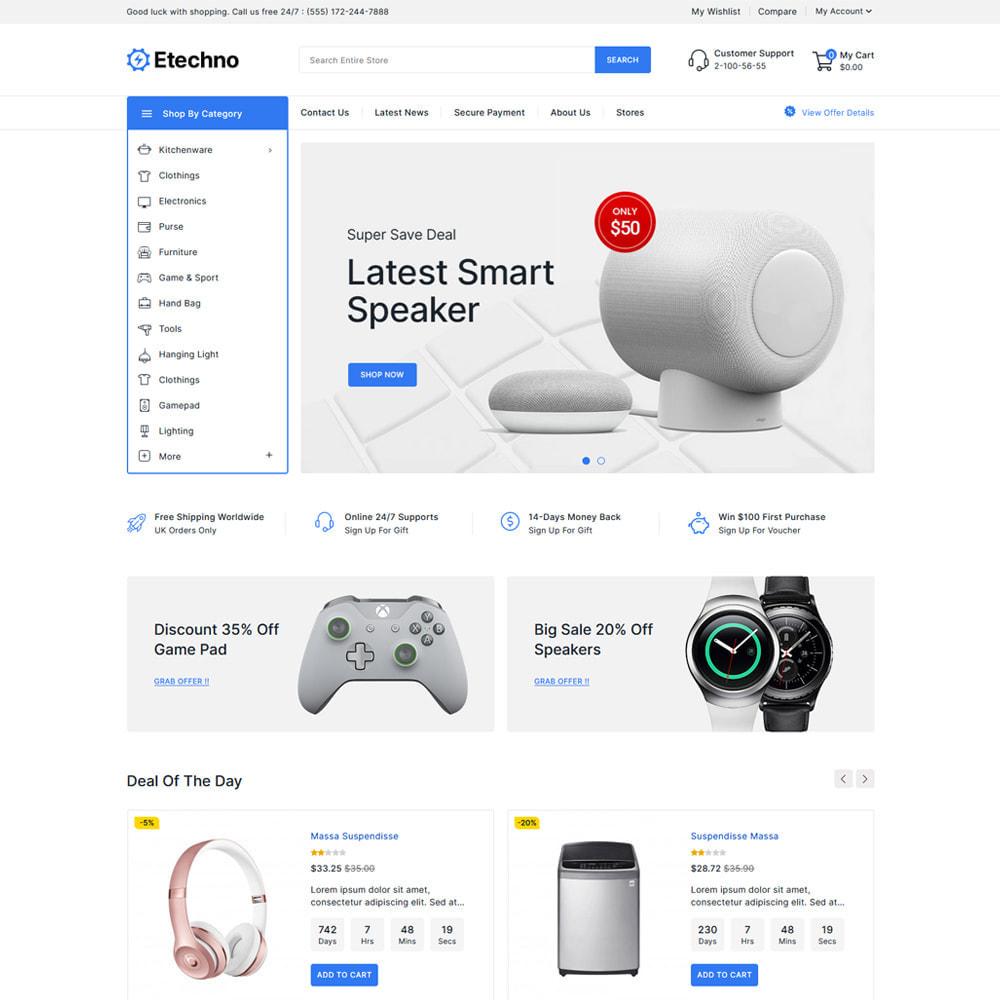 theme - Electronique & High Tech - Etechno - Electronics Store - 2