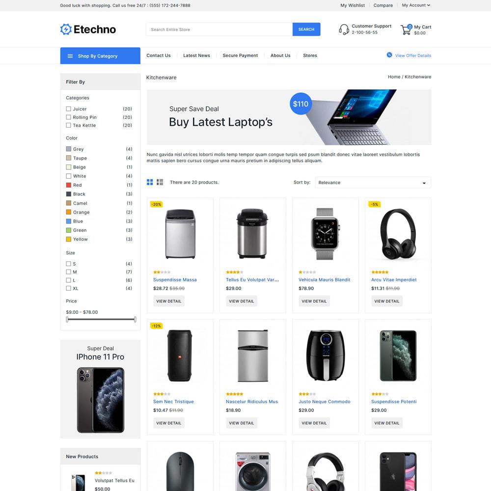 theme - Electronique & High Tech - Etechno - Electronics Store - 3