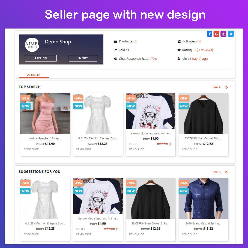 module - Marketplace Creation - Multi Vendor Ecommerce Marketplace - 8
