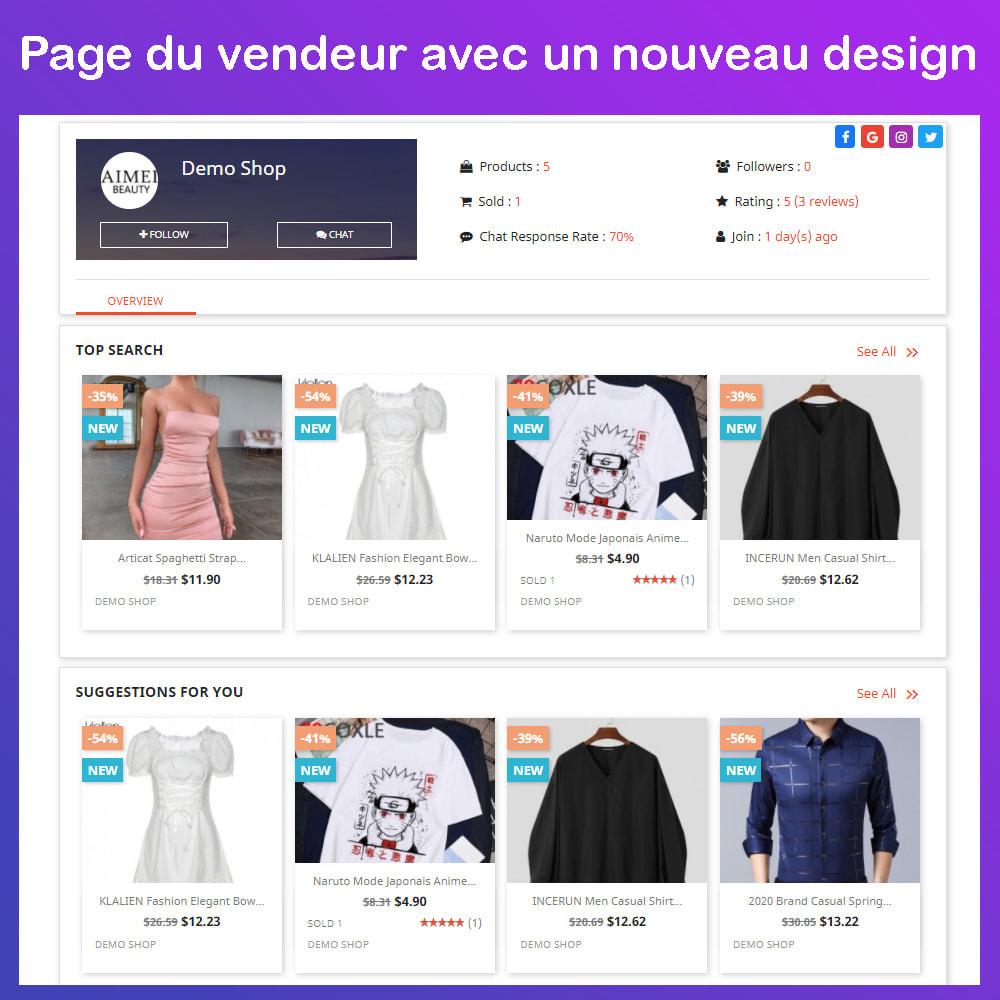 module - Création de Marketplace - Marché du commerce électronique multi-vendeurs - 9