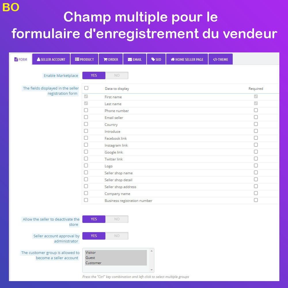 module - Création de Marketplace - Marché du commerce électronique multi-vendeurs - 21