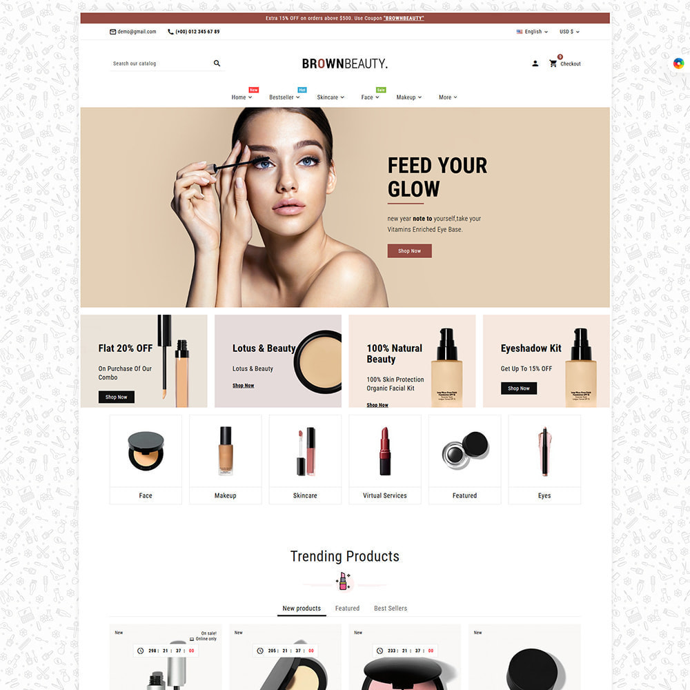 theme - Health & Beauty - Brownbeauty - Herbal Care - 13