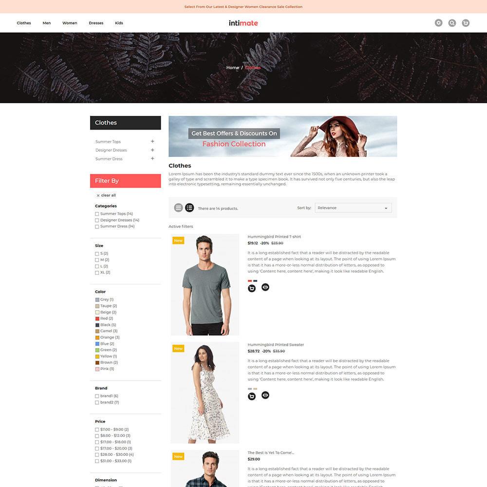 theme - Fashion & Shoes - Intimate Cloth Bag - Fashion Accessories Store - 3
