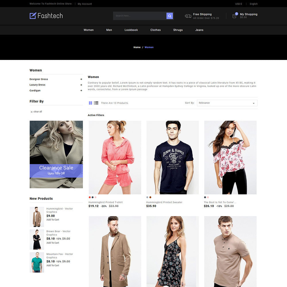 theme - Moda & Calçados - Fashion Apparels - Women Designer  Store - 3