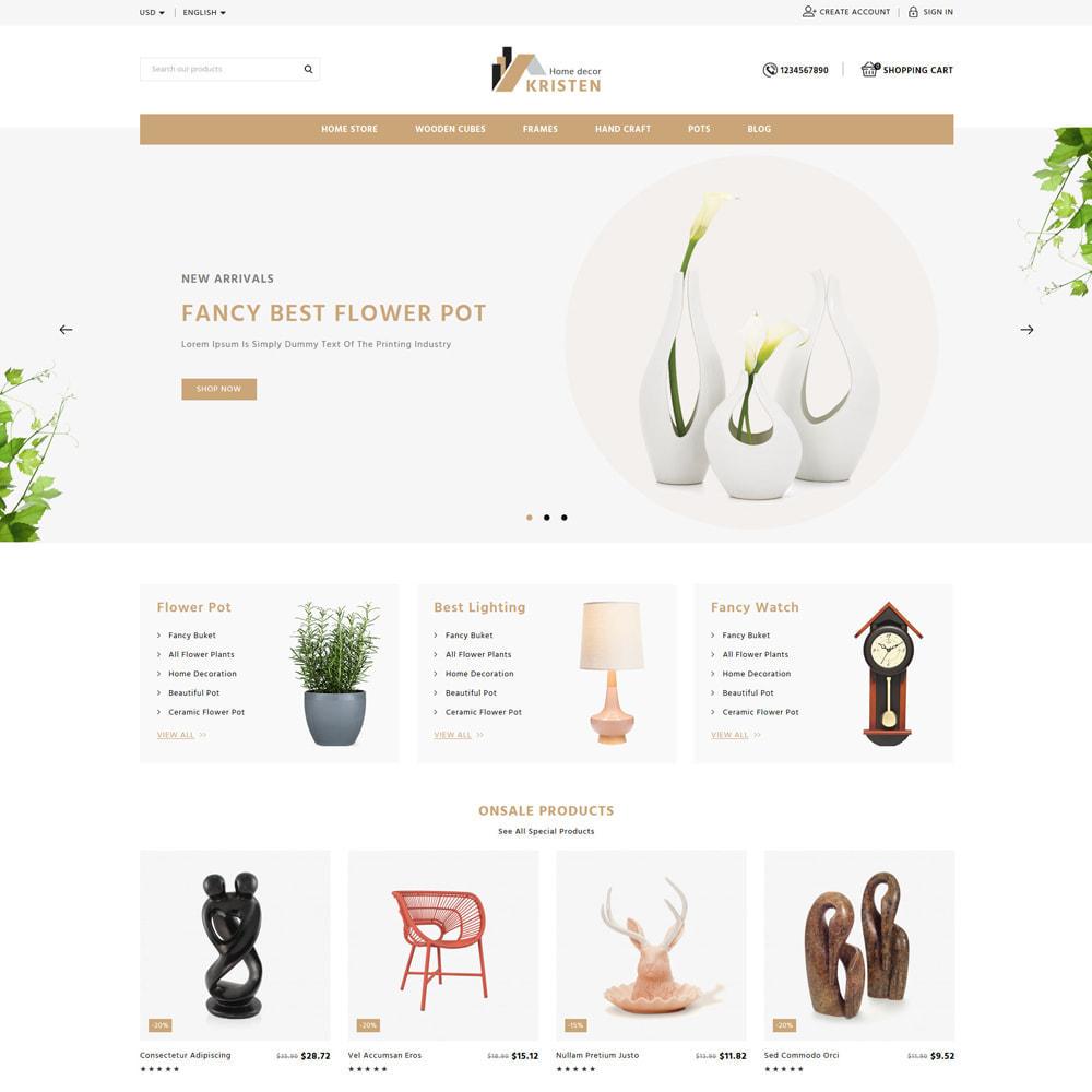 theme - Home & Garden - Kristen Home & Furniture Store - 1