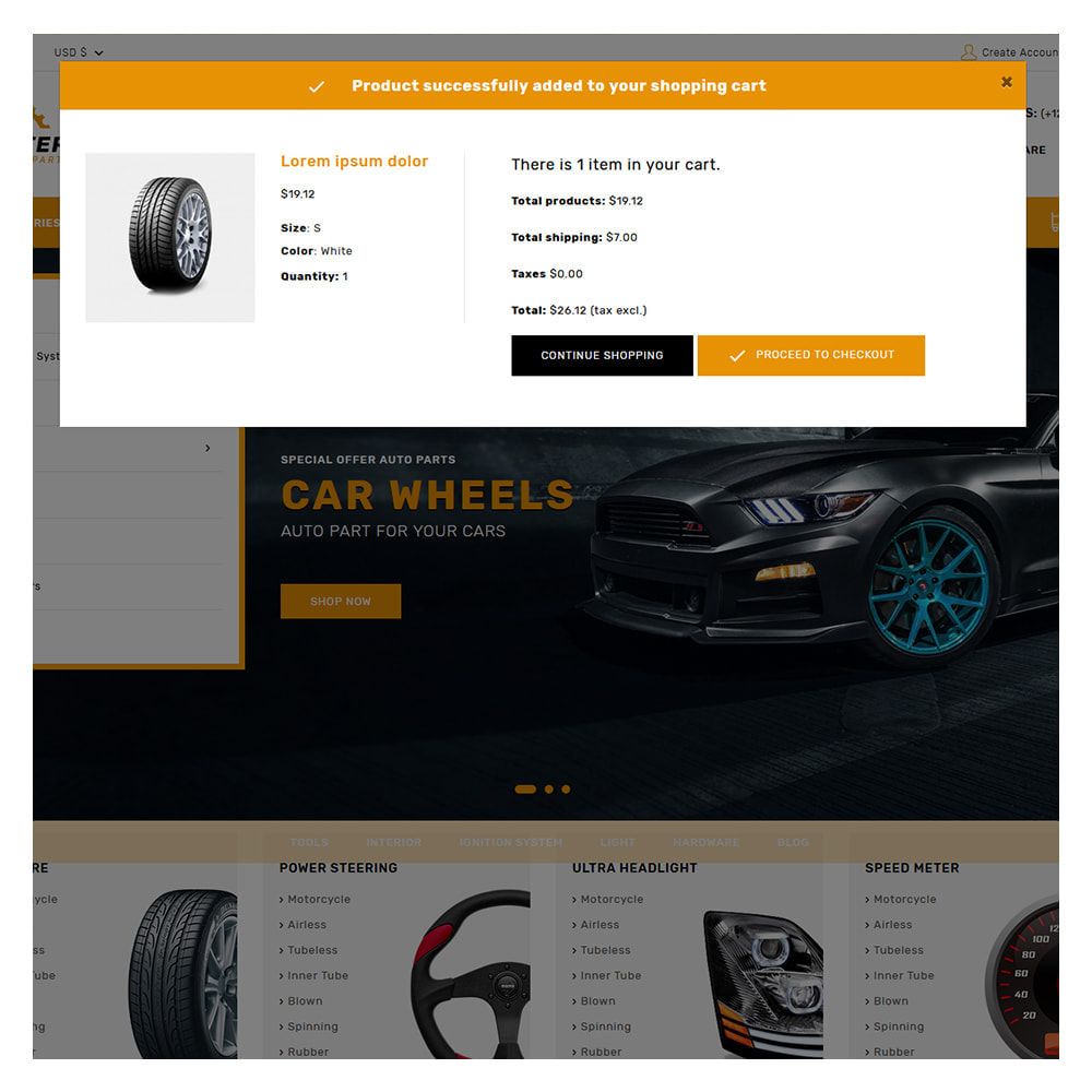 theme - Automotive & Cars - Kiteron Automotive & Cars Shop - 5
