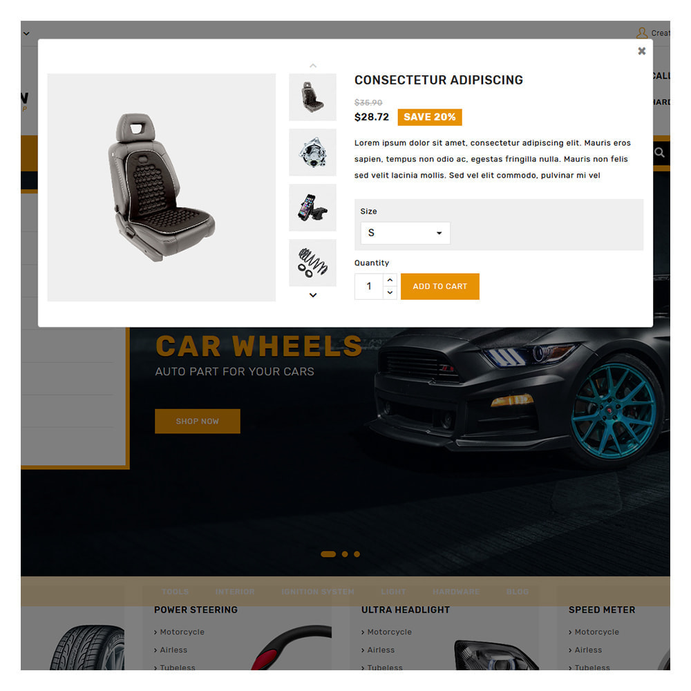 theme - Automotive & Cars - Kiteron Automotive & Cars Shop - 8